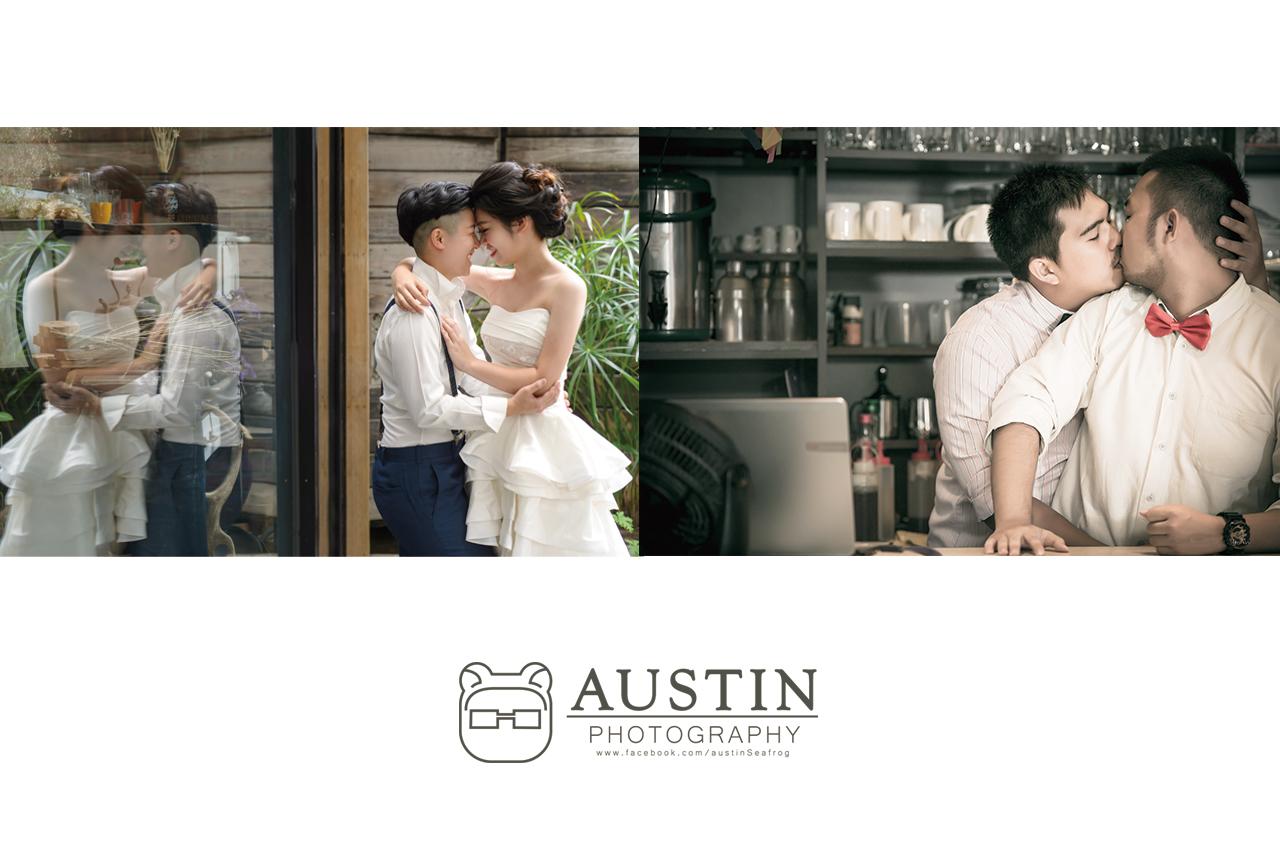 男同志女同志婚禮婚紗攝影
